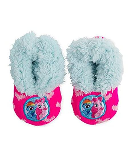 61633d6dc83 Image Unavailable. Image not available for. Color  My Little Pony Girls Slipper  Socks ...