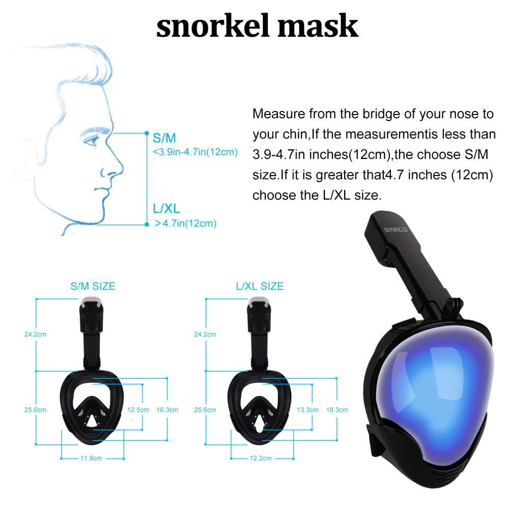 RFV Máscara de Buceo con Recubrimiento Al Vacío, Máscara de Buceo de Silicona, Protección Solar Seca, Protección UV a Prueba de Viento: Amazon.es: Deportes ...