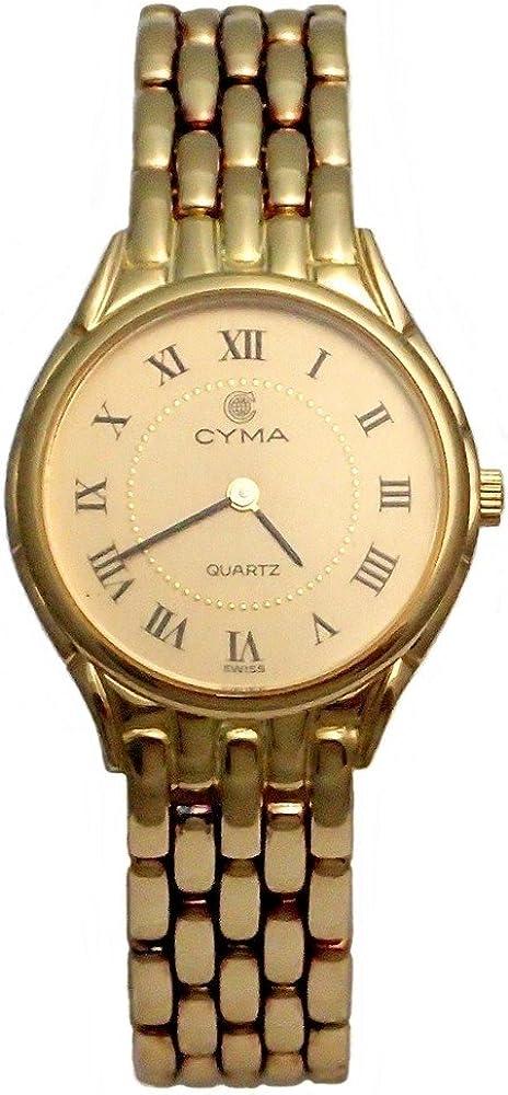 Reloj Oro 18K Cyma Modelo 6518 Panter Mujer Doble Cierre Plegado - Modelo: 6518