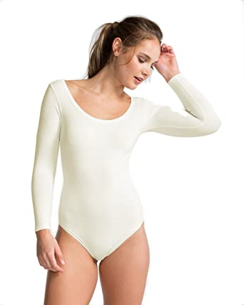 583c1c827d33e SPANX Long Sleeve Base Body Suit Opaque Zoned Tummy Slimming Ballet  Inspired Briefer, FS6015