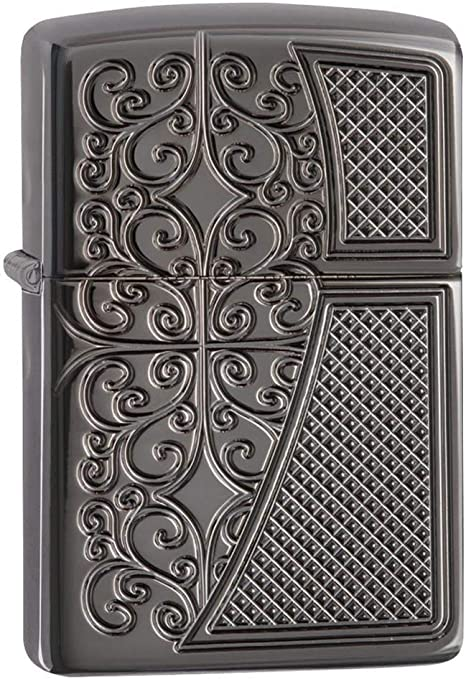 Zippo Filigree Front Back Armor - Mechero de Gasolina: Amazon.es: Hogar