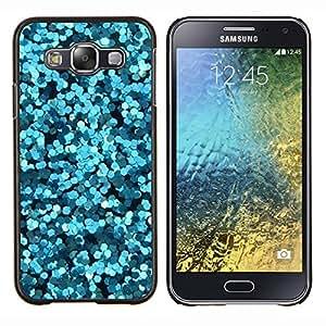 Eason Shop / Premium SLIM PC / Aliminium Casa Carcasa Funda Case Bandera Cover - Brillante Burbujas de agua abstracta Luz - For Samsung Galaxy E5 E500