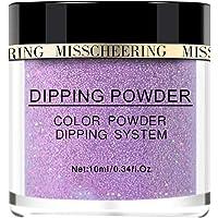 Aumiky Shiny Art Decoration Nail Art Polymer Acrylic Powder Nail Art Extension Dipping Glitter Powder Nail Art Glitters (05)