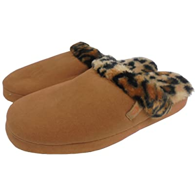 Acorn Womens Fur Scuff Slipper