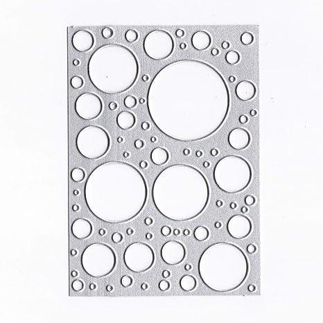 XNBZW - Plantillas para Scrapbooking, diseño de Copos, Acero ...