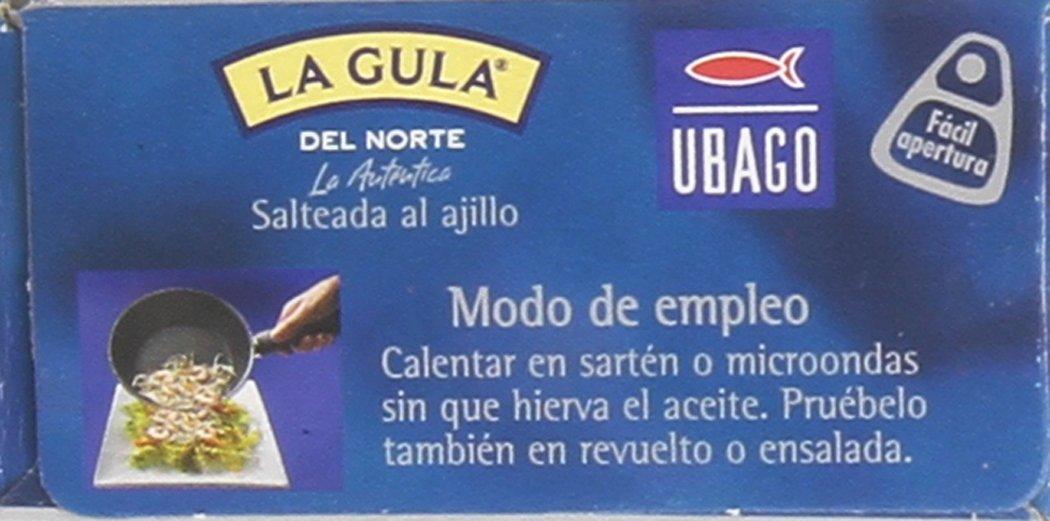Ubago La Gula del Norte Salteada al Ajillo - 50 gr: Amazon.es: Amazon Pantry
