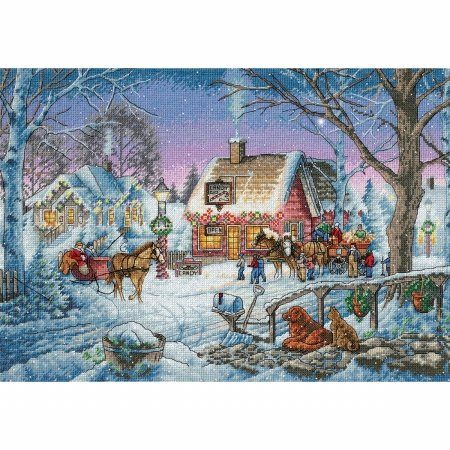 Dimensions 8816 Gold Collection Sweet Memories Counted Cross Stitch Kit-16X11 14 Count