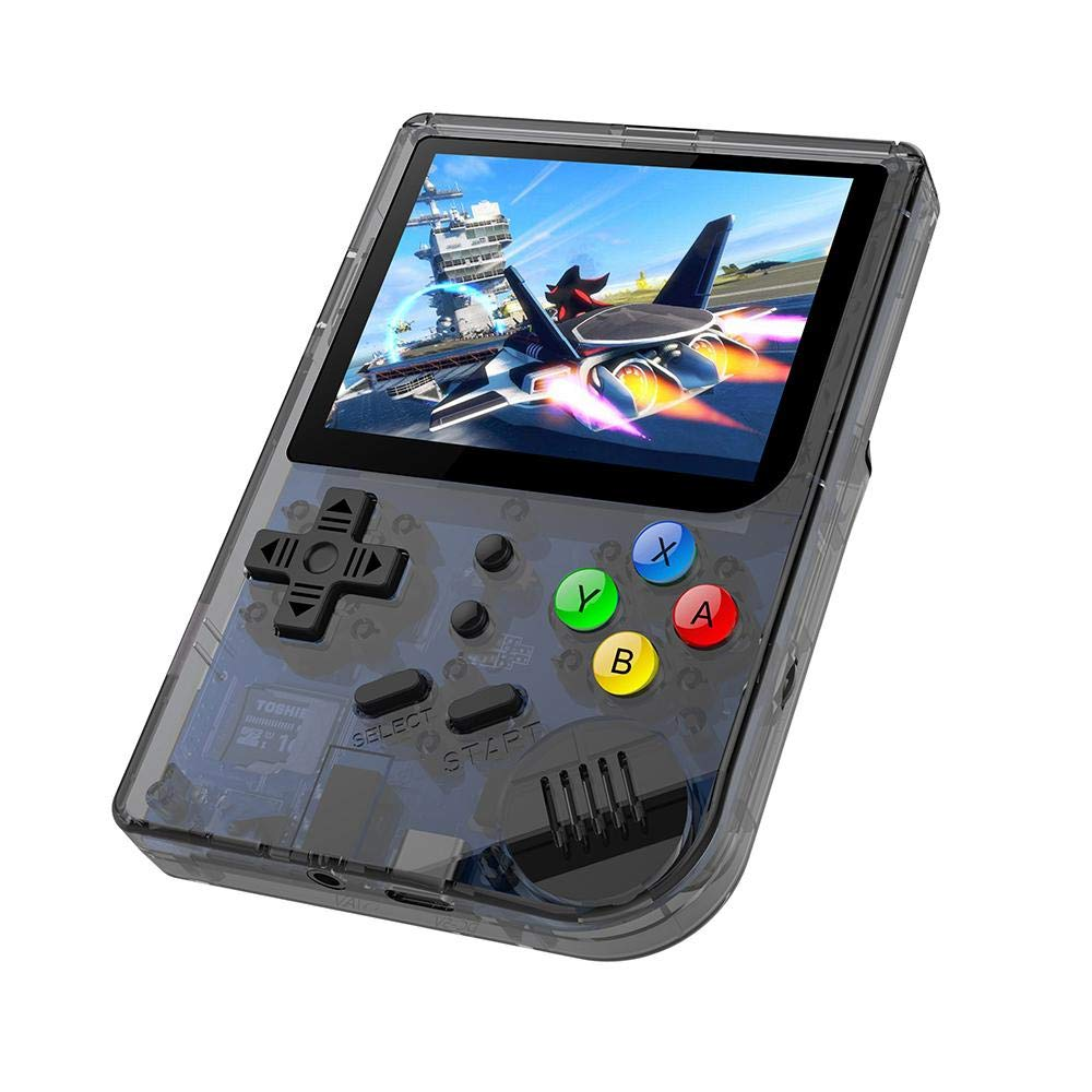 Layopo RG300 Game Console, Opening Linux Tony System Retro Handheld Game Console 16GB Support 32G TF Card 3 Inch Screen More Than 3000 Games Portable Video Game Console