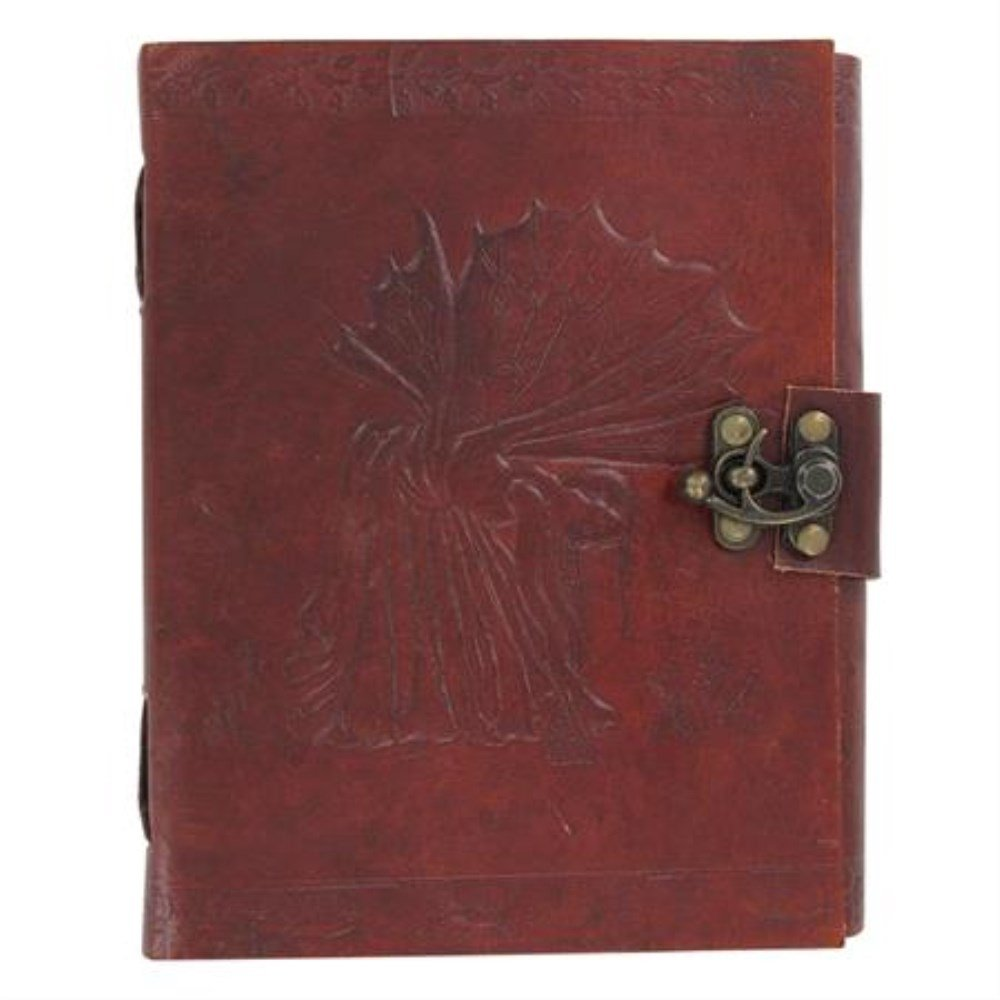 Wee Fay Fairy Locking Leather Spell Book