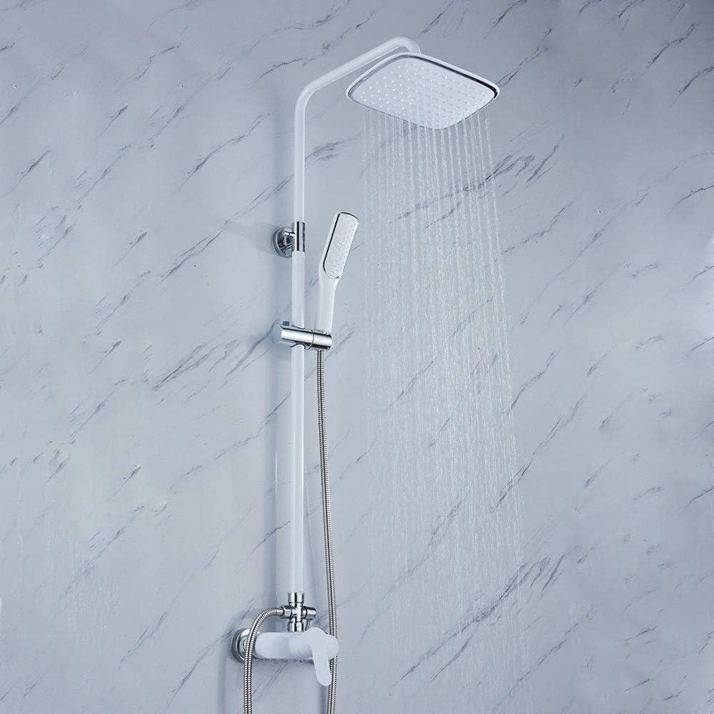 16 Zoll Edelstahl LED Duschkopf Eckig Regendusche Duschbrause /Überkopfbrause Kopfbrause Regenbrause 40x40cm DHL