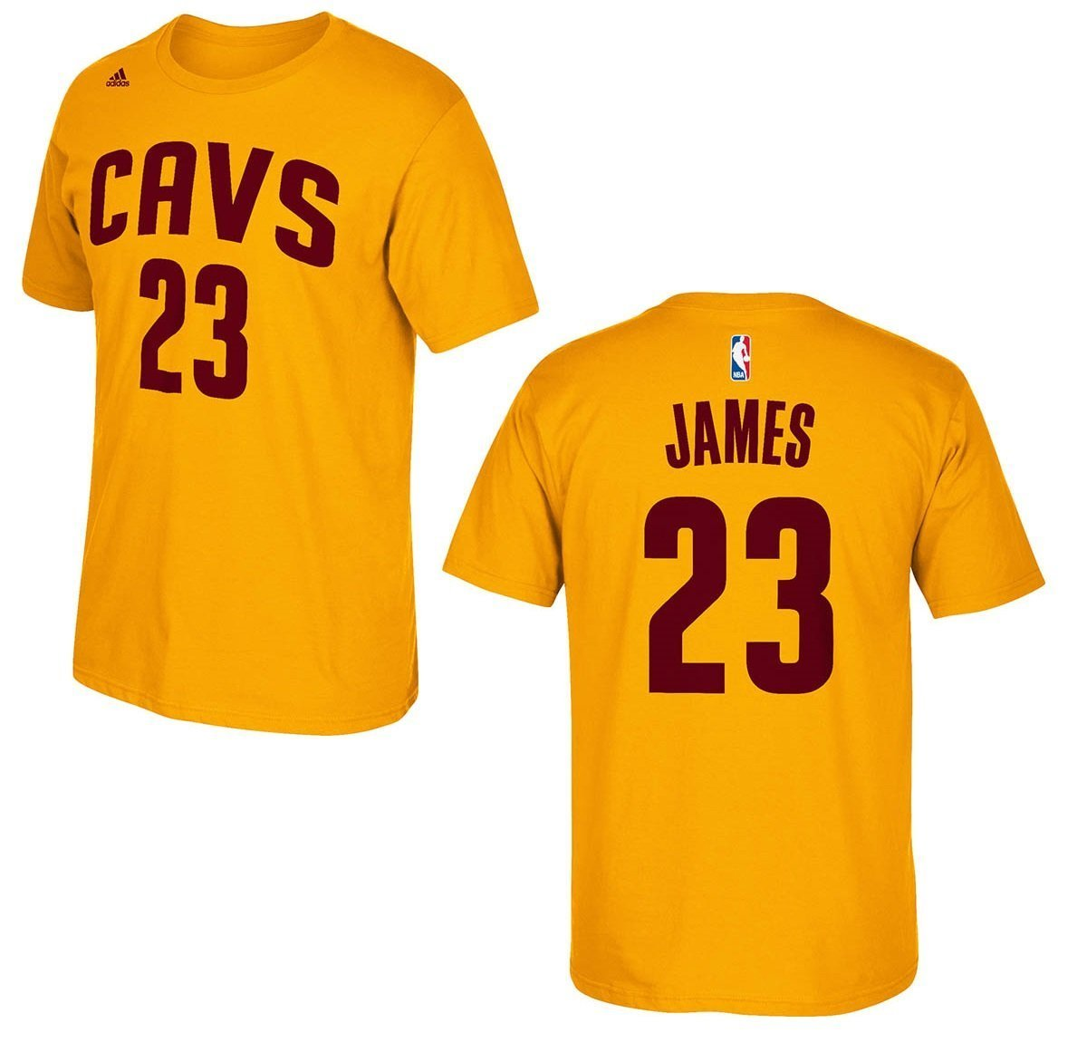 Cavs black t shirt jersey - Amazon Com Cleveland Cavaliers Lebron James Yellow Name And Number T Shirt Sports Outdoors