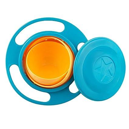 Sztara - Vajilla de entrenamiento para bebé, tazón con rotación de 360 grados, a