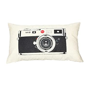 Amazoncom Zx101 Creative Patern Printed Throw Pillow Cover Case - Creative-idea-for-home-decoration-2