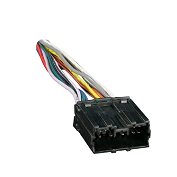 com metra radio wiring harness for mitsubishi  metra 70 7001 radio wiring harness for mitsubishi 1992 up