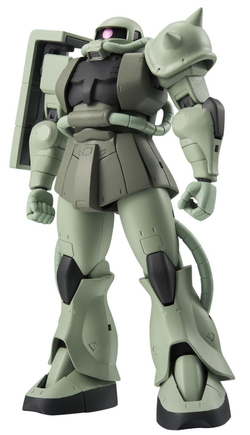 Robot Tamashii MS-06 Gundam Mobile Suit Mass Production Zaku II Bandai America BDIGU040767