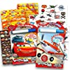 Disney Cars and Planes Coloring and Activity Super Set Kids Toddlers -- 2 Pixar Mess Free Coloring Books with Magic Pens, 50 Planes Temporary Tattoos and Over 500 Cars Stickers
