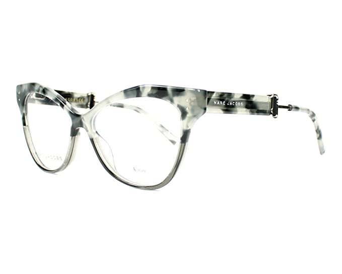 ea8ac03376 Marc Jacobs Women s Prescription Eyewear Frame Multicolour marmor - grau 51