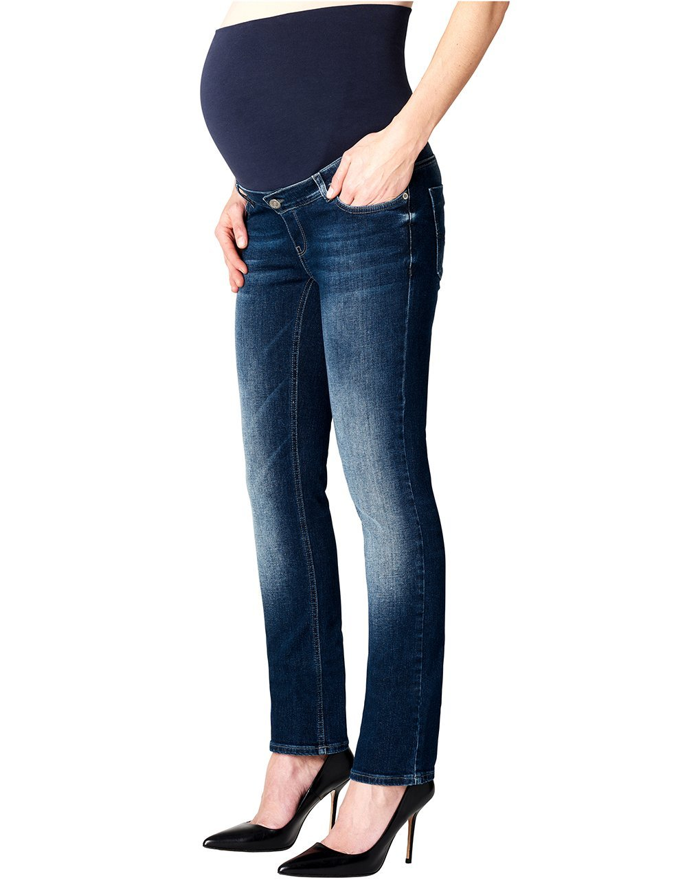 Esprit Maternity Pants Denim OTB Straight, Jeans-Maternité Femme TASK LICENSE B.V. G8C009
