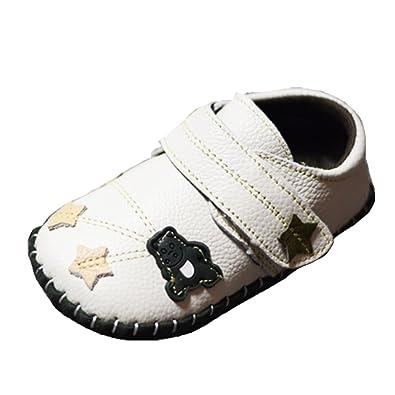 9d331b752b7dd Ohmais Enfants Chaussure bebe garcon bebe fille premier pas Chaussure  premier pas bébé sandale en cuir souple  Amazon.fr  Chaussures et Sacs