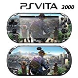 Skin Decal Cover Sticker for Sony PlayStation PS Vita Slim (PCH-2000) - Watch Dogs