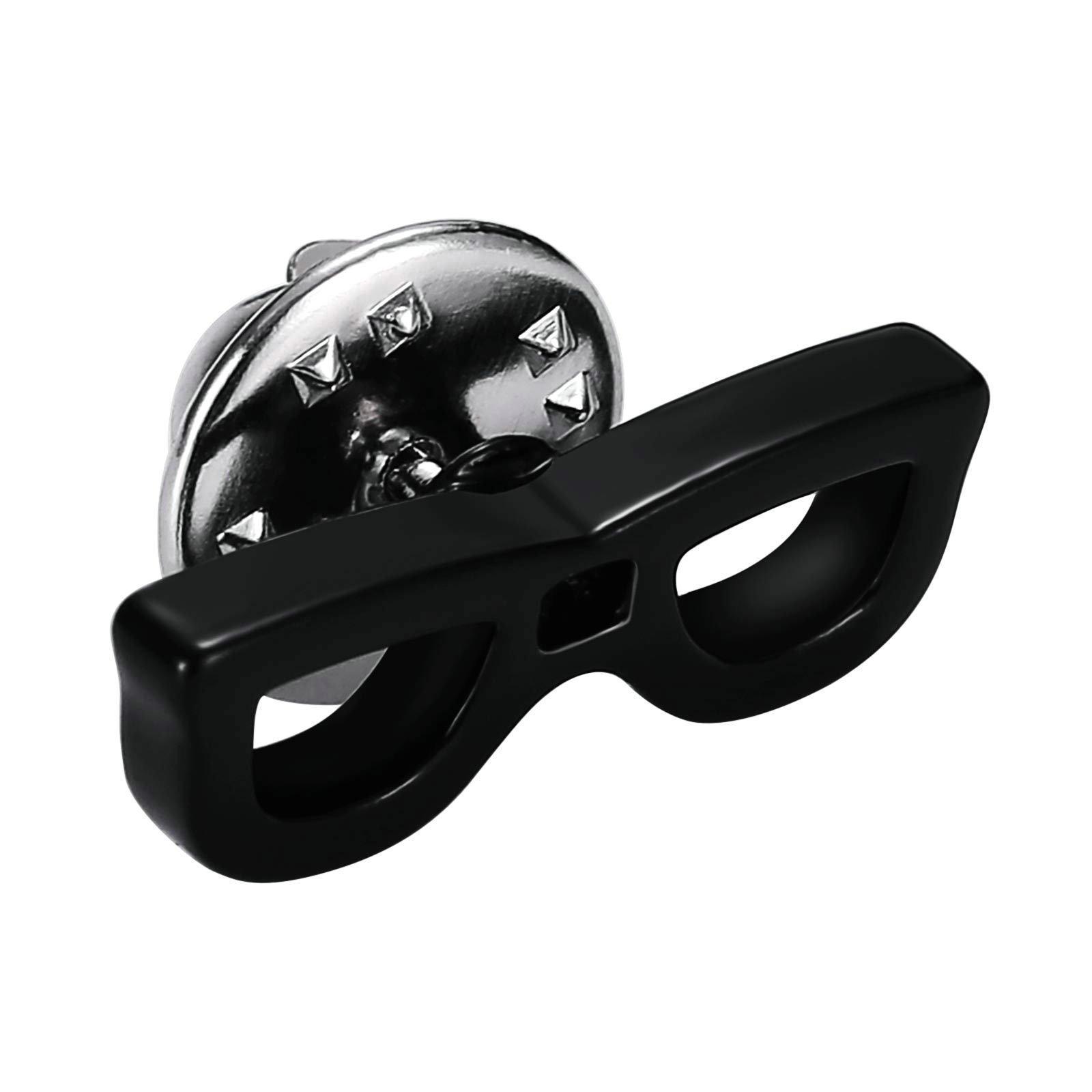 Daesar Jewelry Stainless Steel Summer Sun Glasses Sunrays Black Mens Cufflinks