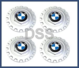 BMW 3 5 7 8 Series Z3 E39 OEM Genuine 4 pcs Wheel Center Cap Style 5 Cover 1986-2003