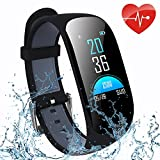 ifmeyasi Fitness Tracker, Wristband Activity Step Tracker with Heart Rate Monitor Watch IP67 Waterproof Smart Wristband with Calorie Counter Watch Pedometer Sleep Monitor for Women Men