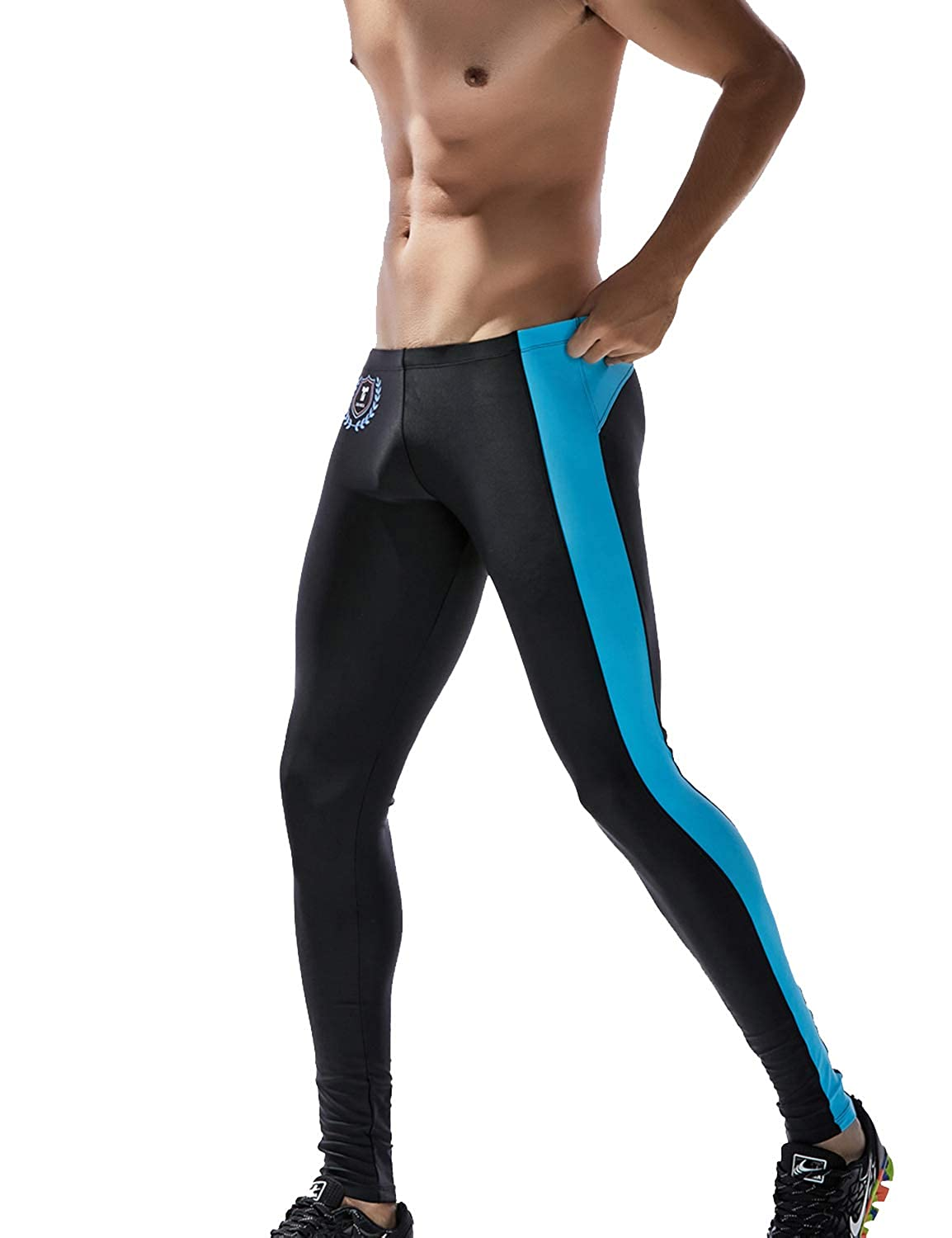 a7ac1ad999233 Amazon.com: TAUWELL by SEOBEAN Mens Sports Compression Tights Leggings:  Clothing
