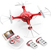 Syma X5UW RC Quadcopter Drone with 720P HD Live Video Camera