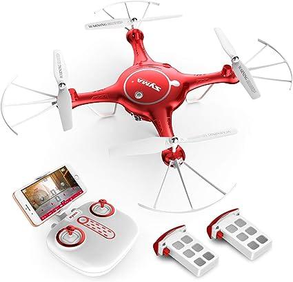 Syma X5UW Wifi FPV Headless RC Drone 720P HD Camera RTF Quadcopter Toys US Gift