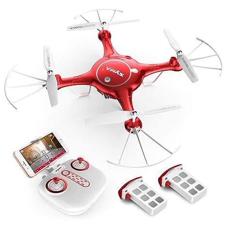 Syma x5uw cámara HD 720P Wifi FPV Quadcopter Drone con plan de ...