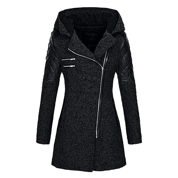 9baac64cdaa8 99native Manteau Femme Hiver Doudoune Femme Longue Duffle Coat Fourrure  Jacket Leather