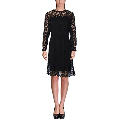 1dcc81a2594c3 Image Unavailable. Image not available for. Color: Elie Tahari Womens  Priscilla Lace Floral Party Dress ...