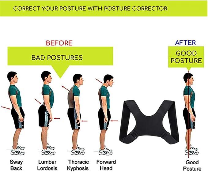 Hanbee Corrector de Postura, Corrector de Postura Espalda y ...