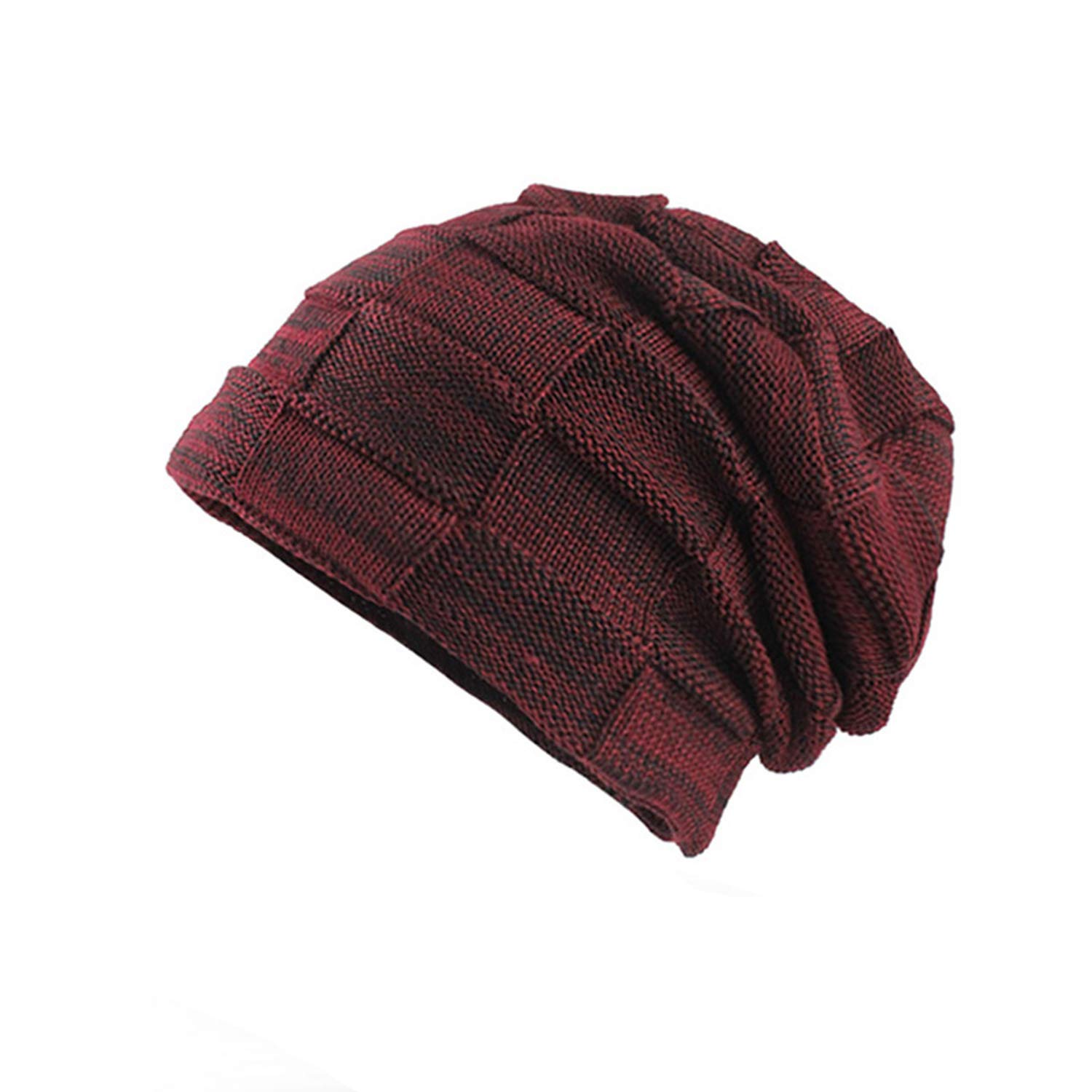 Thick Men Hats Scarf Cap Knitted Wool Hat Beanie Men Caps Lady Neck Beanie Fashion Soft Womens F18030