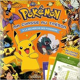 Amazonfr Pokémon Ma Chasse Au Trésor à La Recherche
