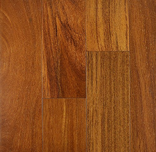 CUMARU-BRAZILIAN TEAK SOLID PREMIUM HARDWOOD FLOORING COLOR NATURAL 3/4