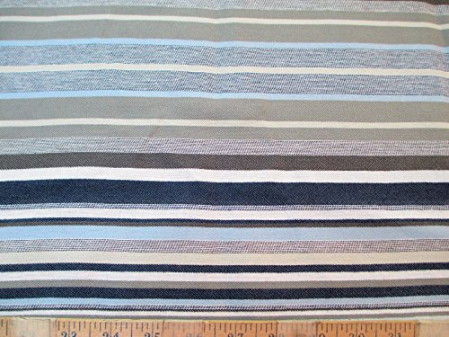 Richloom Discount Fabric Upholstery Drapery Bannister Mineral Stripe LL41 ()