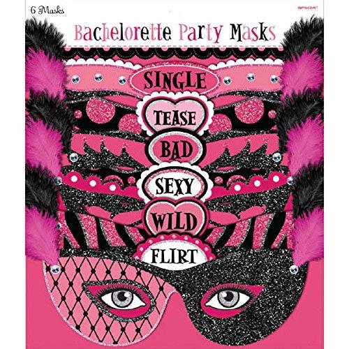 Amscan Bachelorette Party Masks | 6 Ct. -
