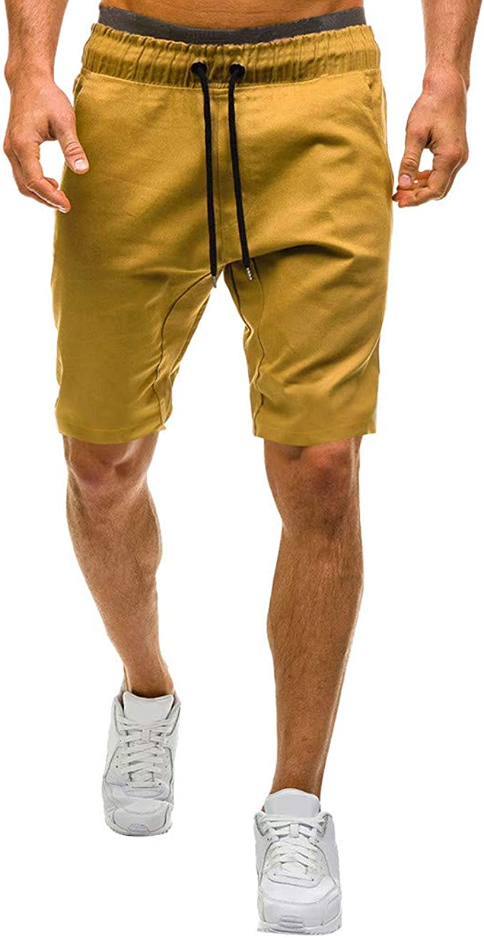 Talla Grande Pantalones Cortos con Bolsillos Pantalones Pantalones ...