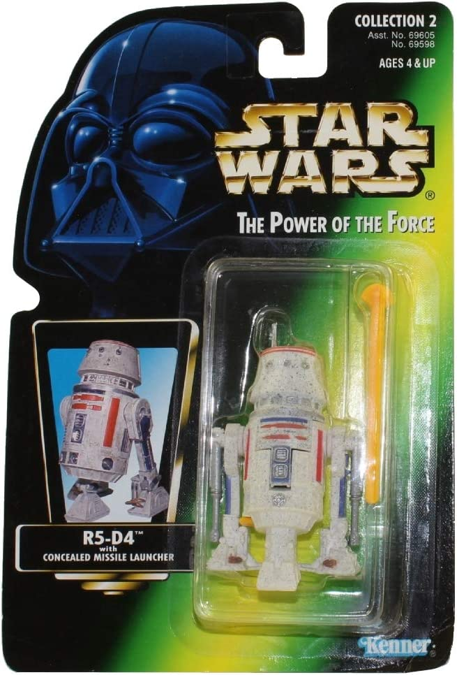 Star Wars: Power of the Force Green Card > R5-D4 Action Figure