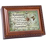 Best Cottage Garden Gifts For Families - Cottage Garden Retirement Woodgrain Music Box/Jewelry Box Plays Review