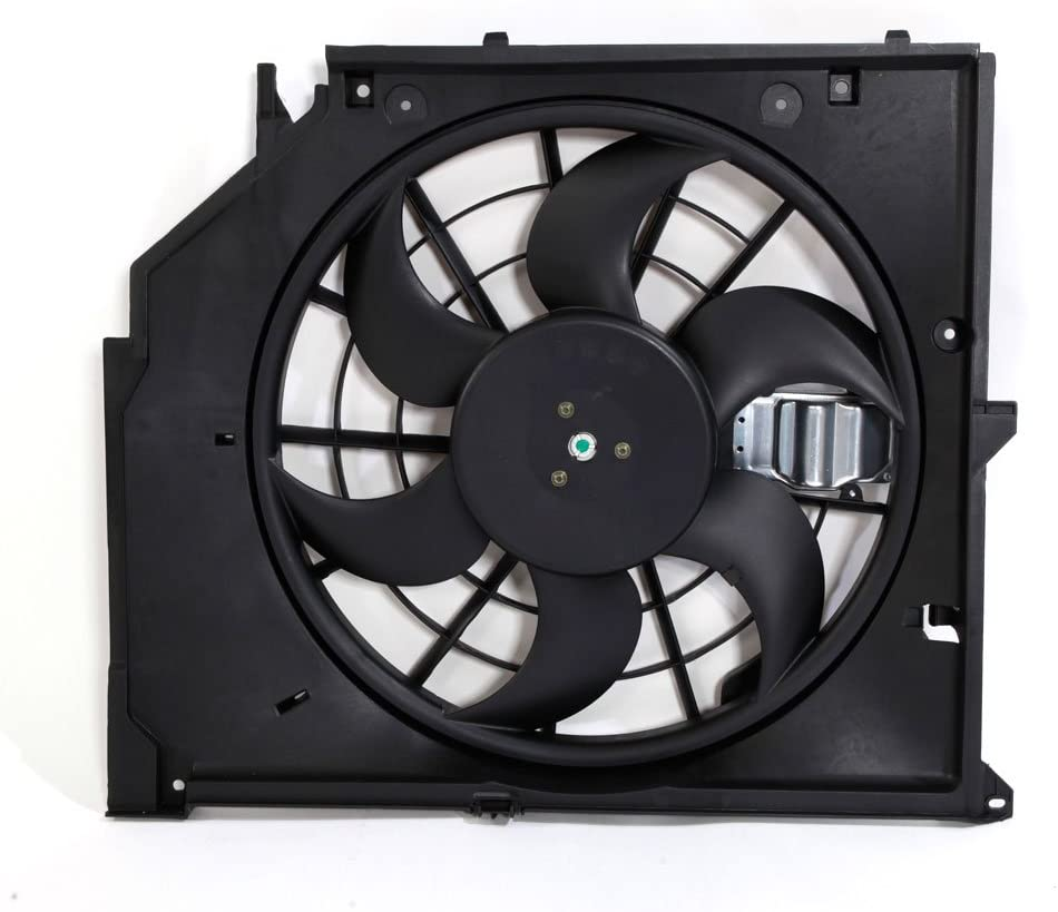 AutoForever Front E46 Electronic Radiator Cooling Fan Clutch Assembly Fit for 2000-2005 BMW 325i 325Xi 330i 330Xi 17117561757