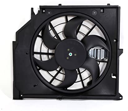 611190 BMW 3 SERIES E46 Radiator Condenser Cooling Fan Assembly