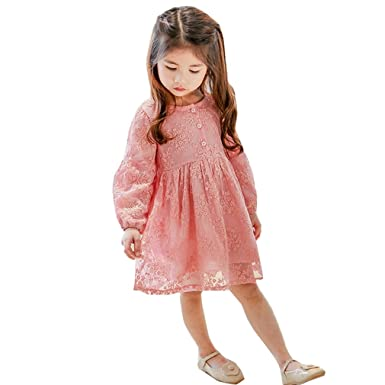 0d828a3360084  ファイン・ショップ 子供服 ワンピース 女の子 長袖 90-130cm お洒落 春秋用