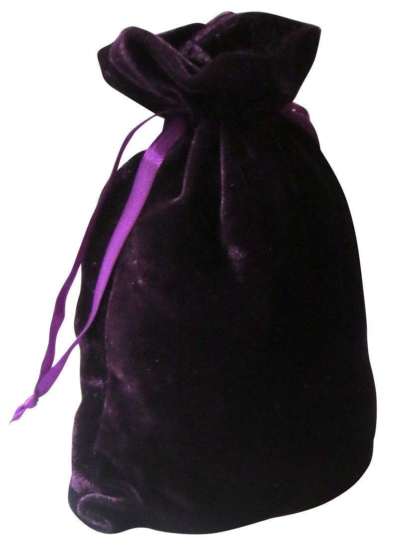 Amazon.com: Tarot bolsas: Púrpura terciopelo de lujo 6