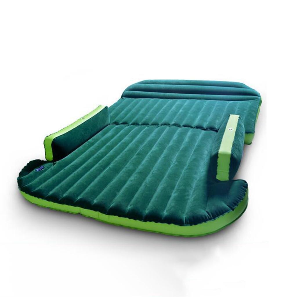 Portable SUV Dedicated Aufblasbare Matratze / Auto Universal Hintere Heckklappe Aufblasbare Matratze / Outdoor Matratze , green