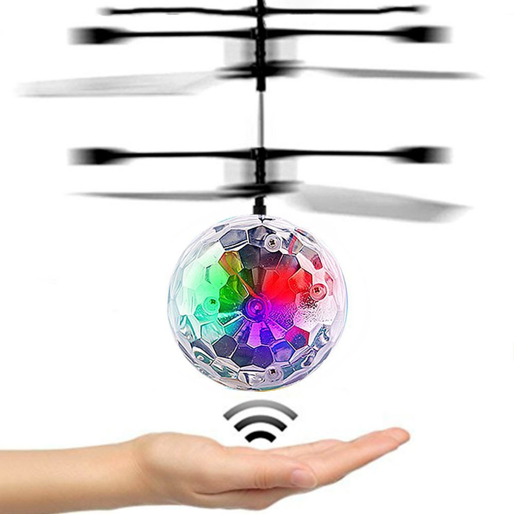 DMbaby Novedad Juguetes Flying Ball Helicopter- Mejores Regalos (style6)