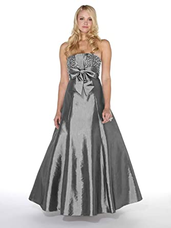 Yasmin Embellished Prom Dress Ball Gown 1022023 Silver 20