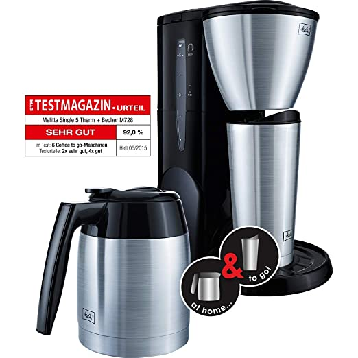 Melitta Single 5 - Cafetera (Independiente, Negro, Goteo, De café ...